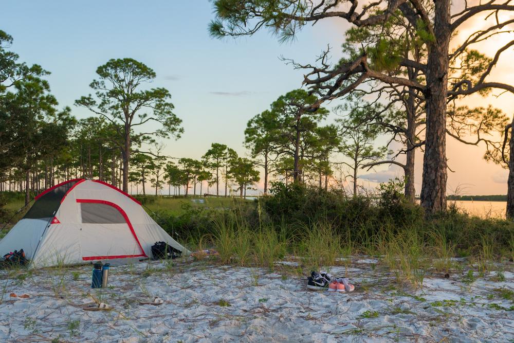 Primitive Camping on St George Island • Jetset Jansen